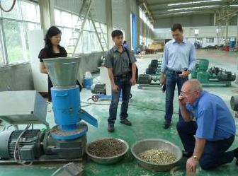 Sawdust Pellet Machine