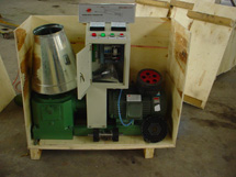 electric pellet press