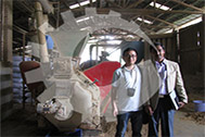 Customer Visit from India - 500kg/h pellet plant