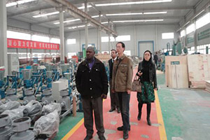 Zimbabwe customer visit Gemco factory