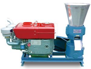 grass pelleting machine