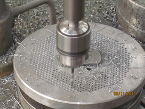 processing of flat die